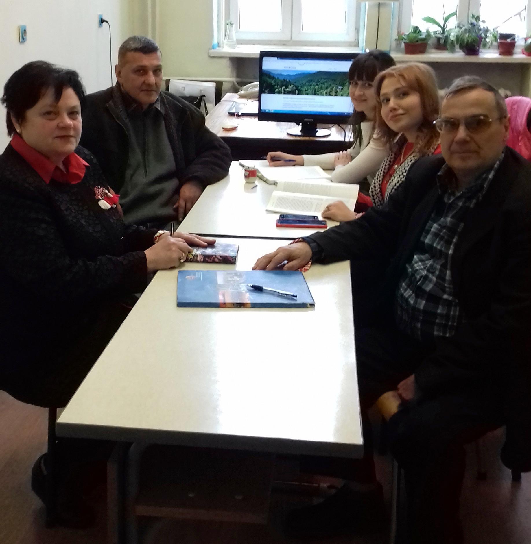 28.02. 2018г. Среща на участниците в проекта за обсъждане на текущите задачи.