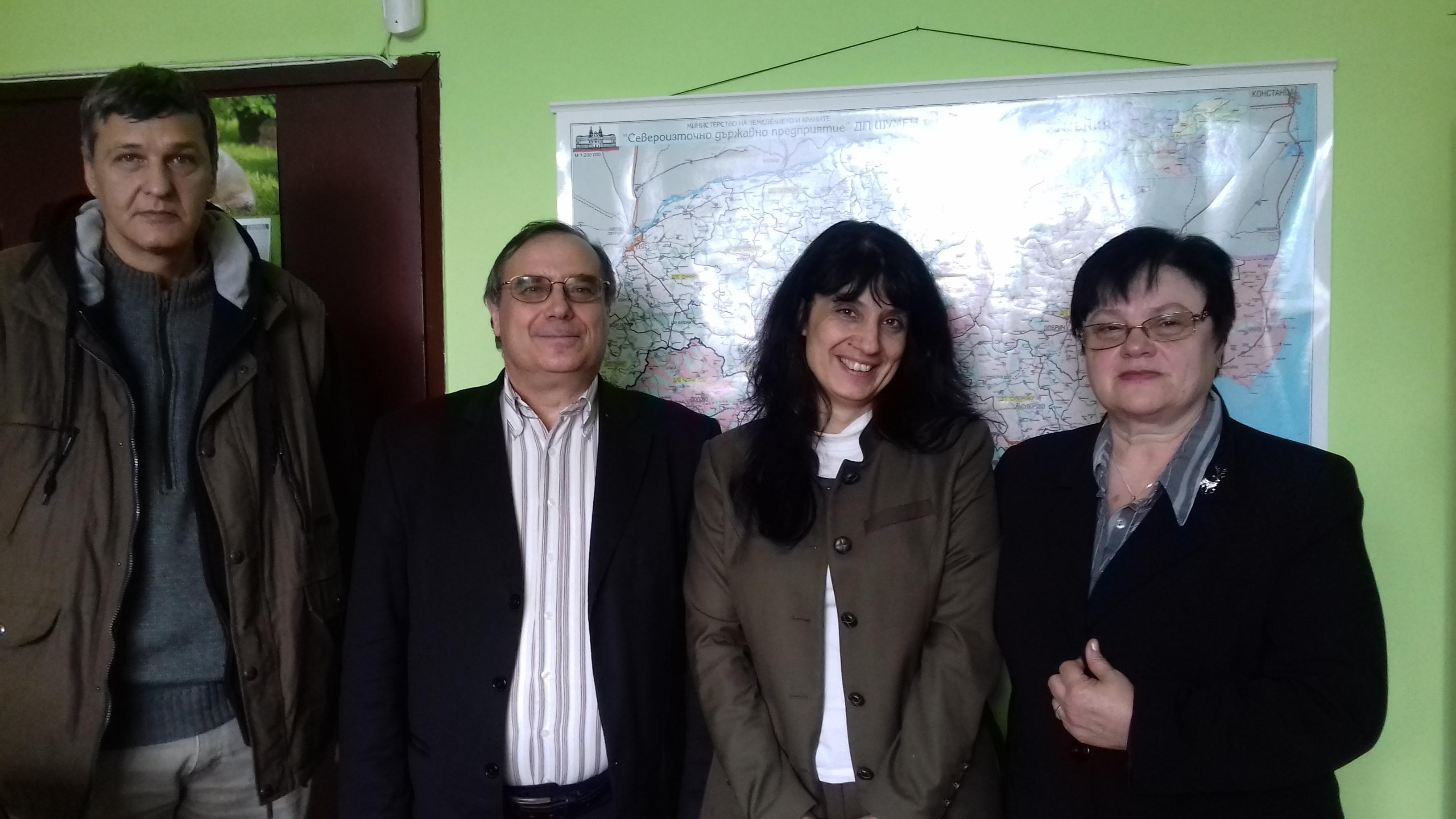 Среща с представители на Североизточното дърводобивно предприятие