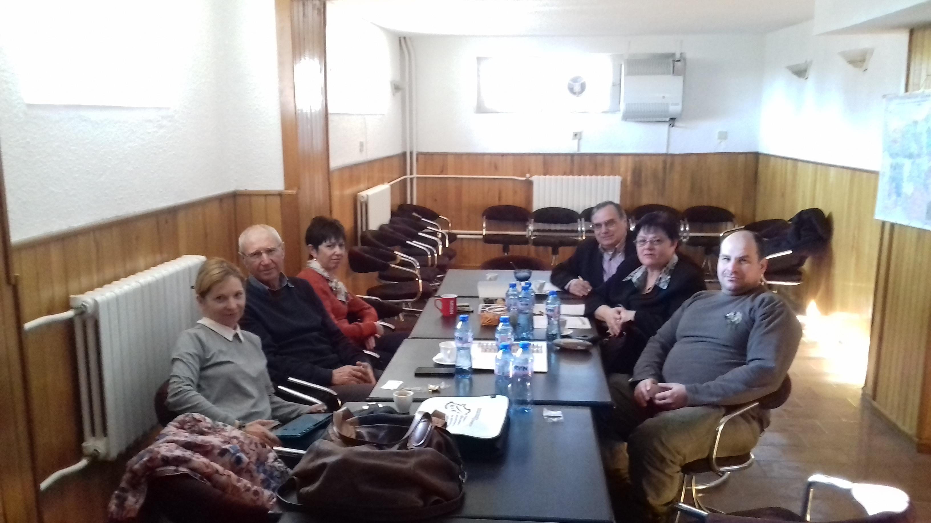 Среща с представители на ДГС